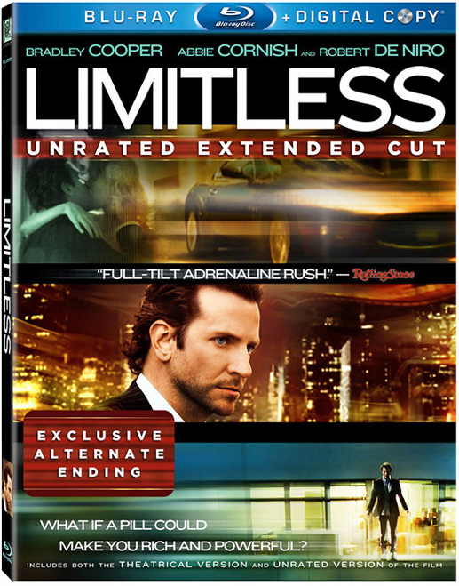 Blu Ray Review Limitless 2011 Fusedwire